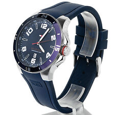 Tommy Hilfiger Men's 1790862 Sport Bezel and Silicon Strap Watch