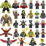 42Pcs/lot Lego Pieces Super Heroes lEGOED Marvel Avengers Endgame Iron Man Thor