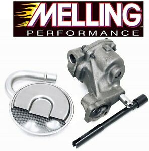 MELLING M55 Oil Pump+Pickup Tube/Screen+Drive Shaft for Chevy SBC 327 350 400
