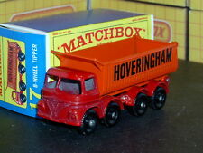 Matchbox Lesney Foden HOVERINGHAM 8 wheel Tipper 17 d2 SC13 VNM crafted box