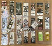 ULTRA PRO SEMI RIGID TICKET PROTECT HOLDERS LOT OF 24 - COWBOYS TICKETS INCUDED