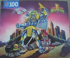 1993 Mighty Morphin Power Rangers King Sphinx 100pc jigsaw puzzle COMPLETE