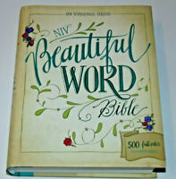NIV Beautiful Word Bible, New International Version, Hardcover, From Zondervan