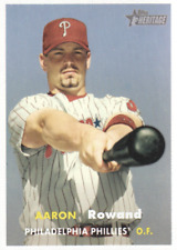 2006 Topps Heritage Baseball #164 Aaron Rowand Philadelphia Phillies