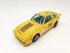 BBURAGO Mazda RX7 / Yellow colour / Scale 1:43 / Burago