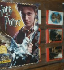 HARRY POTTER STICKERS AGENDA ALBUM VUOTO+SET COMPLETO FIGURINE PANINI