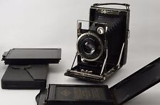 Vintage1930 year made PATENT ETUI 6.5X9CM  W/ ZEISS TESSAR 12CM f/4.5 LENS#227