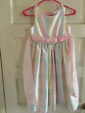 George Beautiful Girl's Spring Dress Pastel Bow Size 8