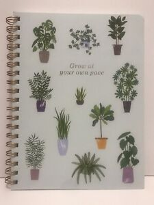 New Fringe Studio GROW Journal Spiral All-Purpose Notebook 192 Lined Pages