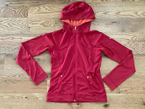 Lululemon Hooded Define Jacket Nulu Womens 8 Red Hike Climb Yoga Fitness Run EUC