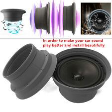 Pair Car Door Audio 6.5 inch Speaker Ring Cover Interial Foldable Trim Washer
