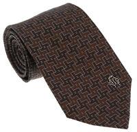 Roberto Cavalli ESZ045 03503 Brown Geometric Tie