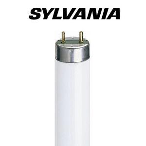 x25 Sylvania 2ft 18w T8 Fluorescent Tubes - Standard White / 3500k / 835