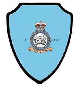 RAF LOSSIEMOUTH WALL SHIELD