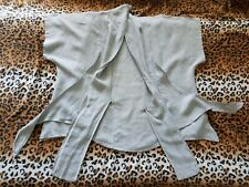 LABASS quirky grey linen boho boxy lagenlook tunic size 1