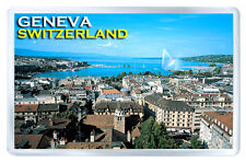 GENEVA SWITZERLAND FRIDGE MAGNET SOUVENIR IMAN NEVERA