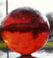 """Acrylic Ball 2"""" Transparent Ruby Red 1 Pc Juggling Lighting Finials 15796-69"""
