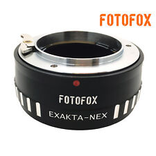 for Exakta Lens to Sony NEX 5N F3 7 A7S A7R A7II A6300 VG40 Adapter Ring EXA-NEX