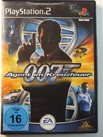 !!! PLAYSTATION PS2 SPIEL 007 Agent im Kreuzfeuer, gebraucht aber GUT !!!