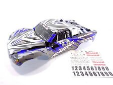 NEW Traxxas Slash 1/10 2wd 4wd Blue Silver Black White Painted Body Shell 4x4