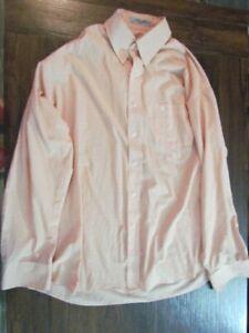 Mens Dress Shirt Size XL Button Down Long Sleeve Stripe Duck Head Brand Dressy