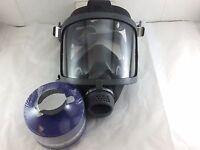Scott/SEA Domestic Preparedness FP Gas Mask with Filter, & Voice Amp