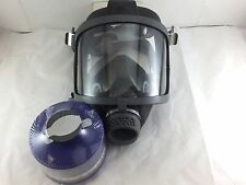 Scott/SEA Domestic Preparedness FP Gas Mask with Filter, & Voice Amp