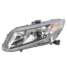 Fits For Honda Civic Sedan 2013 2014 2015 Headlight Left (2013 Civic Coupe)