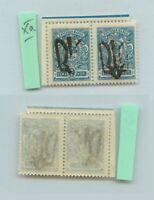 Ukraine 1918, SC 13 mint Podilla I, Xa pair. f9480