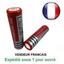 Batterie rechargeable pile accus 6800 mAh 3.7V Li-ion 18650 led