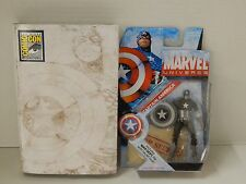 2009 SDCC Promotional NIB Hasbro Captain America with War Department Secret File