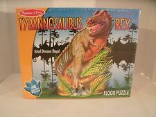 Melissa and Doug Tyrannosaurus Rex Floor Puzzle 48 Pieces Dinosaur New