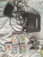 (N64) Nintendo 64 Console, 16 games, 1 pad, expansion pack and memory cards