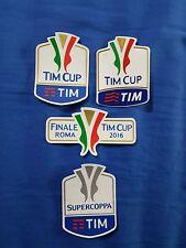 patch toppa gommina finale tim cup roma coppa italia supercoppa super 2015 2016