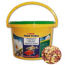 SERA POND FLAKES FLOCKENFUTTER 600g - f. kleinere Teichfische Jungfische Futter