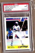 1986 Provigo Expos #9 Andre Dawson PSA 9 MINT Expos Cubs Red Sox Marlins