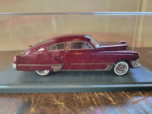 American Excellence 1949 Cadillac 62 Sedan Dark Red 1:43 Neo# 44231