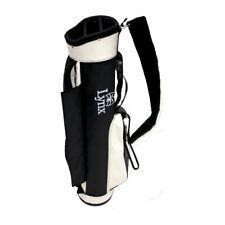 Lynx Golf Retro Carry Bag / White & Black