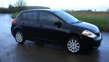 09 NISSAN VERSA LEFT HAND DRIVE LHD BLACK AUTOMATIC PETROL AIRCON UK REGISTERED