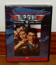 TOP GUN - IDOLS DEL AIR - DVD - NEW - SEALED - ACTION - DRAMA -ADVENTURE
