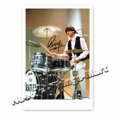 Ringo Starr - Richard Starkey The Beatles Autogrammfoto