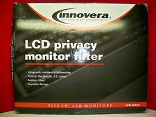 "NEW Innovera IVR46413 Privacy Antiglare LCD Monitor Filter for 19"" Notebook/LCD"