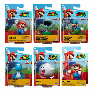 Nintendo Super Mario 2.5-Inch Figures *CHOOSE YOUR CHARACTER*