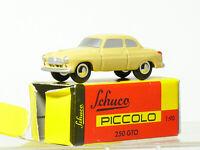 Schuco piccolo Borgward Isabella Limousine   in falscher OVP