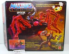 MOTU, Spydor, Masters of the Universe, MIB, mint in box, vintage, He-Man