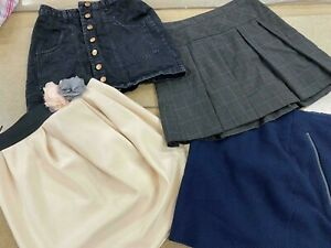 Wholesale Branded Clothing Job Lot Women's Used Grade A Mixed Skirts Clearance