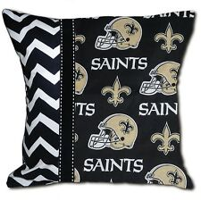 New Orleans Saints NFL Football Decorative Throw Pillow Includes Pillow Form