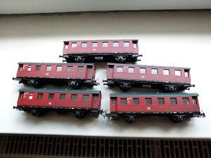 Prefo 3 Personenwagen der DB in H0
