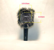 Furry fur Windscreen for SENNHEISER E835S E845S E865-s Nuemann KMS 104D 105D MIC