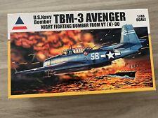 Accurate Miniatures U.S. Navy bomber TBM-3 Avenger 1/48